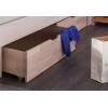 Cama de madeira com gavetas