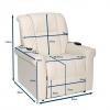 Medidas cadeira elevatória