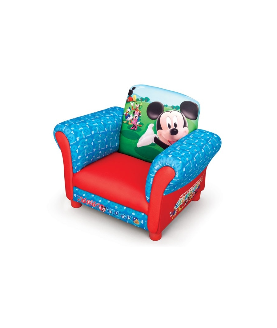 Imagens mickey mouse car interior design for Divan para ninos