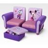 Sofa minnie mouse com puff