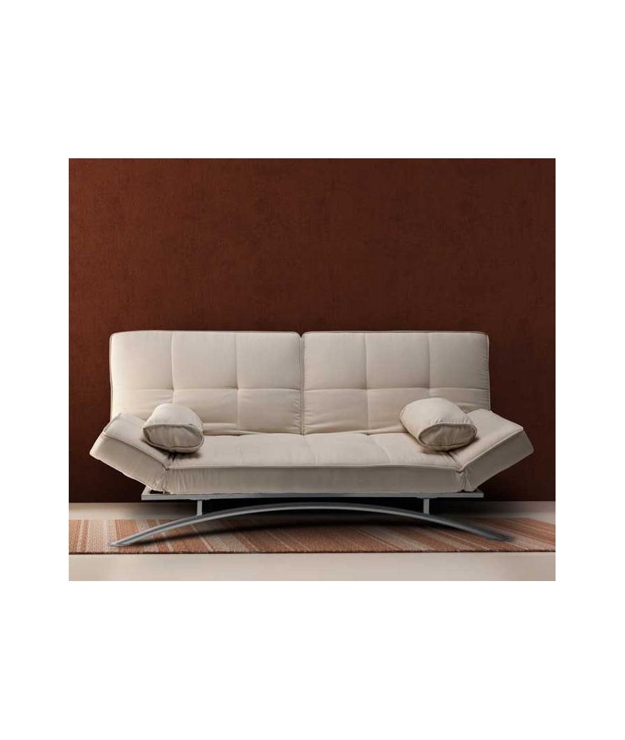Sof cama clic clac branco for Sofa cama dos camas
