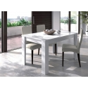 Mesa de jantar carvalho / branca