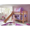 Beliche cortinas lilás rosa