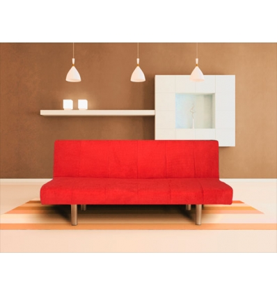 Sofá-cama simples