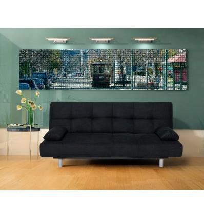 Sofá cama convertível