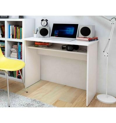 Mesa de estudo com gaveta inferior