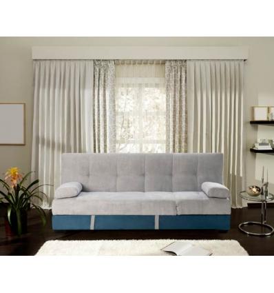 Sofá cama bicolor