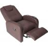 Sofa relax marrom esticada