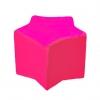 Butaca puff infantil rosa