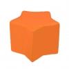 Butaca puff infantil laranja